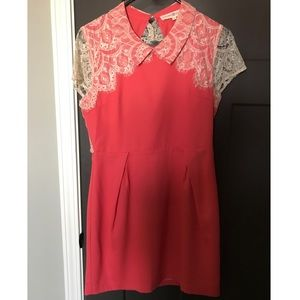 Coral Alterd State Dress